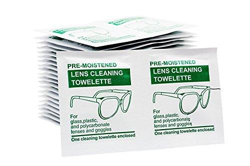 Feuchte Brillenputztücher (100 Stück) für jegliche Art der Glasreinigung Gute Art Von Fett