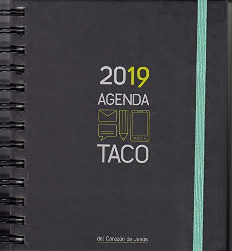 Agenda taco Sagrado Corazón 2019 Verde por Ediciones Mensajero