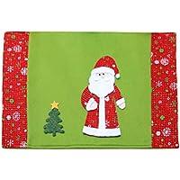 BESTOYARD Decoración de Mesa de Cena de Navidad (Santa Claus)