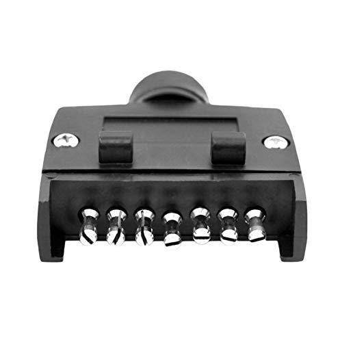 Adaptateur mâle de remorque à 7 Broches pour Prise de remorque Adaptateur de connecteur de lumière de Prise de Camion
