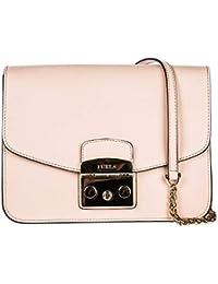 5ba2cdad09 Furla borsa donna a tracolla pelle borsello metropolis rosa