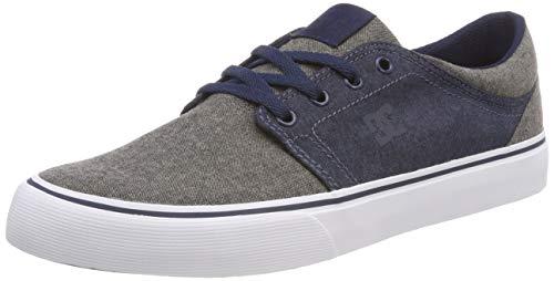DC Shoes Trase TX Se, Baskets Basses Homme, Noir/Gris, 39 EU
