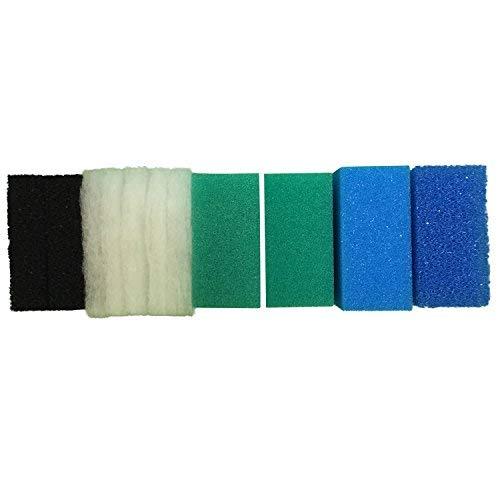 Finest-Filters, Aquarium-Filterschwämme, Komplettset kompatibler Filterschwämme für Juwel Compact / BioFlow 3.0