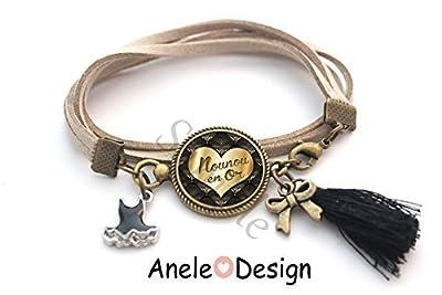 Bracelet Nounou en Or