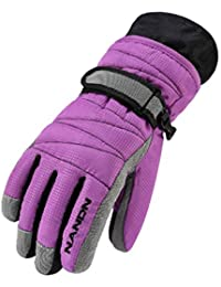 HIFUN 13357 hi-Call Frau lila Fingerhandschuhe Damenhandschuhe Damen Handschuhe