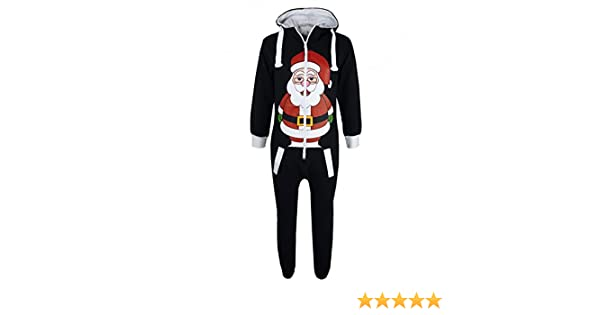 3f18c217d4 A2Z 4 Kids® KIDS GIRLS BOYS NOVELTY CHRISTMAS SANTA CLAUS PENGUIN SNOWMAN  REINDEER PRINT ONESIE ALL IN ONE JUMPSUIT NEW AGE 7-13 YEARS  Amazon.co.uk   ...