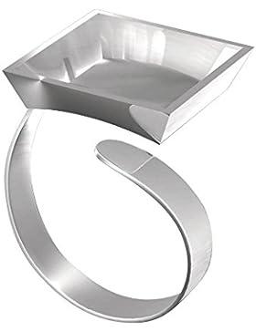 Fimo Ring mit quadratischer Müll
