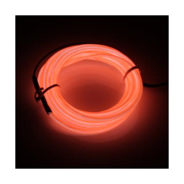 Lumière Lampe El Lerway Fil Noel 5m Enseigne Couleur Pour Flexible baton fete Exterieur Bar eclairage Deco Lumineuse Neon Led Lumineux Neon Wire b9IeDWEYH2
