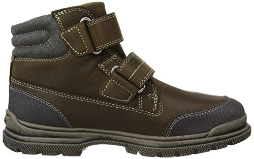 Geox Jr William B Abx, Boots garçon Marron (Chestnut)