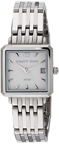 ROBERTO BIANCI WATCHES Women's 'Modomora' Swiss Quartz Stainless Steel Casual Watch, Color:Silver-Toned (Model: RB18091)