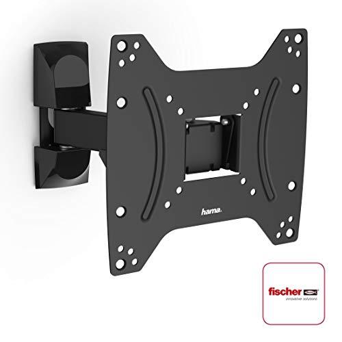 Hama TV-Wandhalterung & Monitorhalterung von 19 - 48 Zoll (48 cm bis 122 cm,VESA bis 220 x 230 mm,schwarz