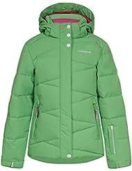 ICEPEAK Niños chaqueta Nikki Jr, otoño/invierno, infantil, color verde, tamaño 176