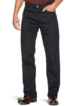 Levi's Men's 751 Standard Fit Twill Trousers, Common Blue Twill, 36W/32L