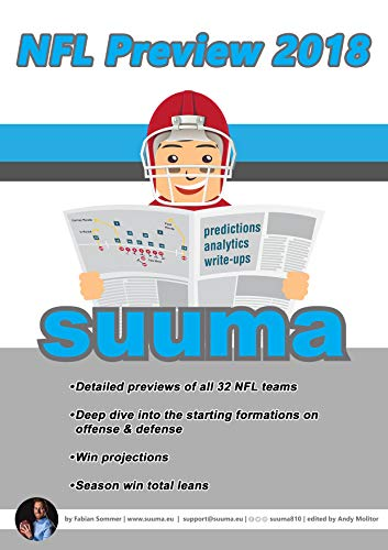 Suuma's NFL Preview 2018: Your guide to the 2018 NFL season (English Edition) por Fabian Sommer