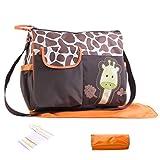 FantaCacy Baby Tragetaschen, Tragbare Wickeltasche Cute Baby Shower Bag für Mama und Papa Unisex für Reisen Im Freien - Grüne
