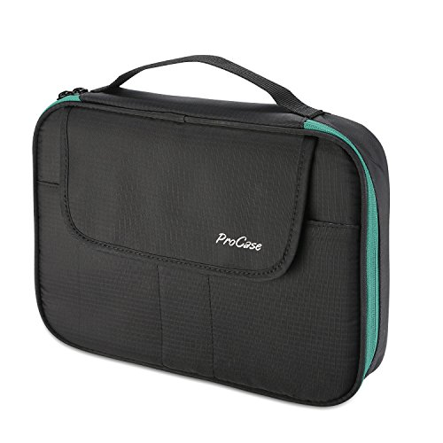 ProCase Elektronische Organizer Zubehör Lagerung Tasche, Doppelschicht