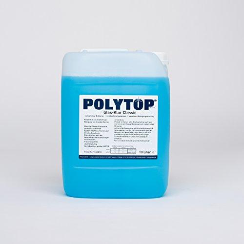 Polytop Glas-Klar Classic Glasreiniger Scheibenreiniger Konzentrat - 10 L