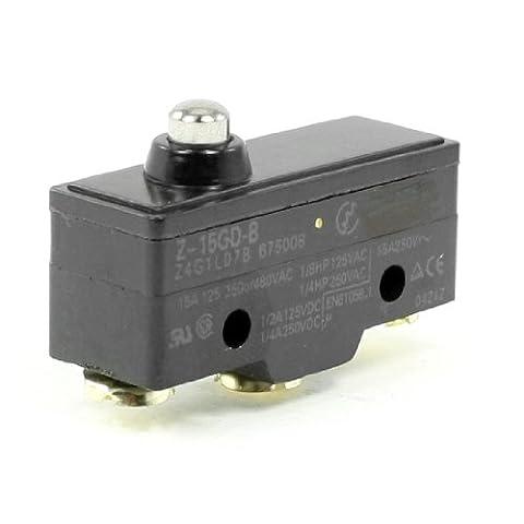sourcingmap® Short Piston De Pression Normalement Ouvert/Fermer Basique Interrupteur Limite Z-15GD-B