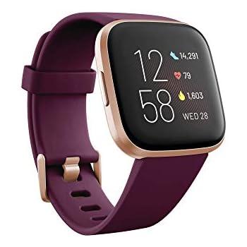 Fitbit Versa 2 - Smartwatch de salud y forma física, Burdeos ...