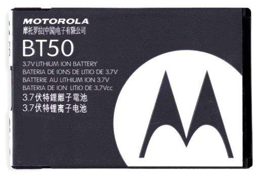 Batteria MOTOROLA BT50 (3,7V / 810 mAh), effetto Anti Memory, tecnologia Li-Io
