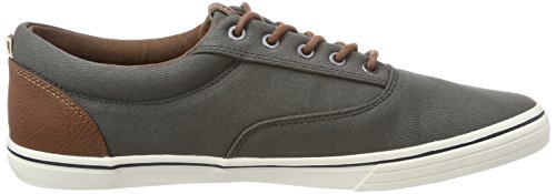 Jack & Jones Jfwvision Mixed SS Beluga, Sneakers Basses Homme Gris (Beluga)