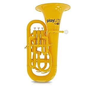 playLITE Hybrid Euphonium by Gear4music Yellow