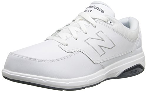 New Balance Men's MW813 Walking Shoe, White, 9.5 6E US
