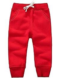 26418f057b GGTFA Unisex Bambino, Neonato, Bambini Pantalone Lungo Tuta Fondi con  Elastico in Vita Cotone