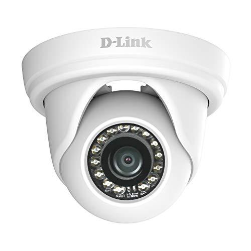 D-Link DCS-4802E Mini Dome Überwachungskamera (Aufnahmen in Full-HD-Qualität, für Innen- und Außenbereich, Tag und Nacht)
