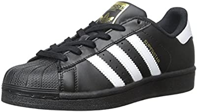 adidas Superstar Foundation-Zapatillas deportivas negro y blanco Jóvenes b23642