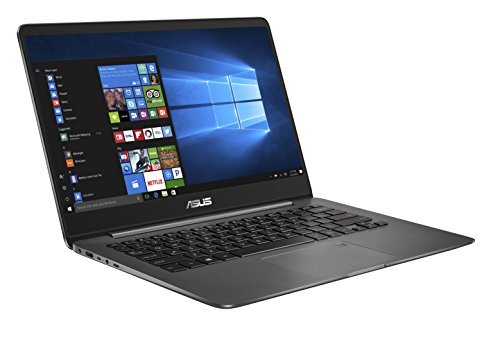 Asus Zenbook UX3430UA-GV010T 35,5 cm (14 Zoll mattes FHD) Notebook (Intel Core i7-7500U, 16GB RAM, 256GB SSD, Intel HD Graphics, Win10) grau