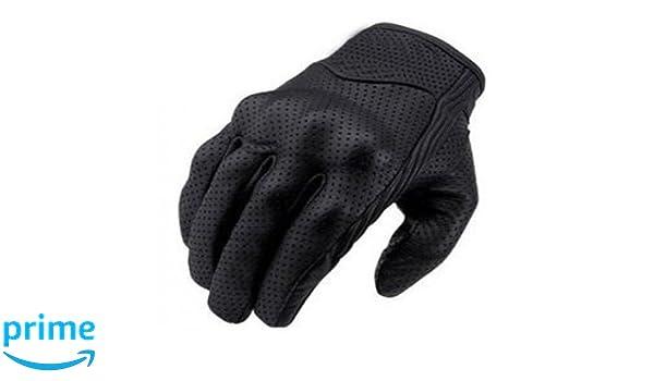 nero Bikers Gear Australia Limited Short Summer perforato guanti da moto taglia 3/X L