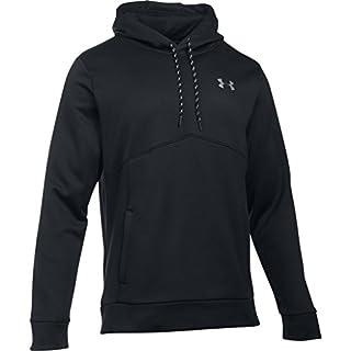 Af Icon Solid Po Hood Men's Warm-up Top, Black / Black / Black (001), Small