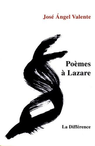 Poèmes à Lazare : Edition bilingue français-espagnol