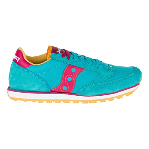 Baskets Saucony Jazz Low Pro Bleu Peacock Blue/Red