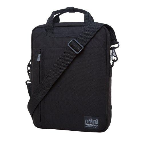 Manhattan Portage Commuter Jr. Laptoptasche Black Label, Unisex-Erwachsene, schwarz, One Size - Manhattan Portage Tasche
