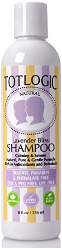 TotLogic Shampoo–lavanda Bliss, 8oz, sin Sulfatos, sin formaldehído