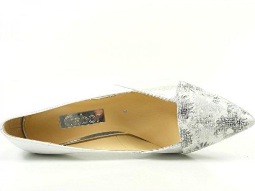 GaborAmberly - Scarpe con Tacco donna Weiß
