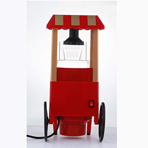 Machine à Pop-Corn de Voiture Classique Mini-Machine à Pop-Corn Machine à Pop-Corn électrique à Usage Domestique