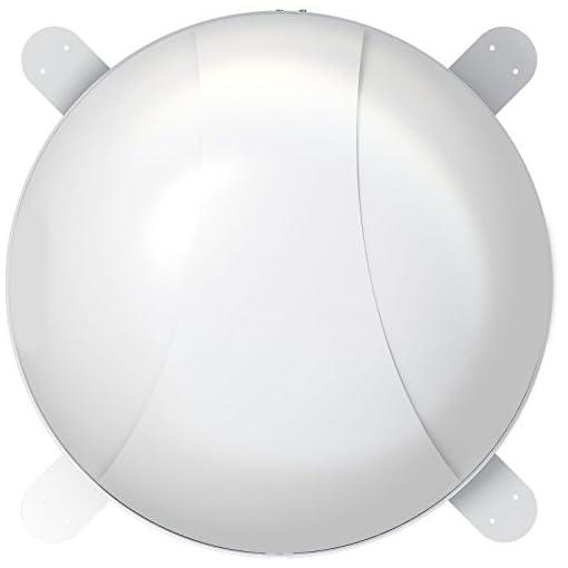 """'CARBEST impianto satellitare """"Snipe Dome Cupola Antenna con aerodynamischer e design compatto per roulotte e camper"""