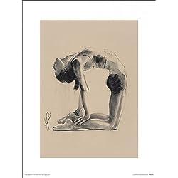 Yoga - Camel Pose, Hazel Bowman Póster Impresión Artística (40 x 30cm)