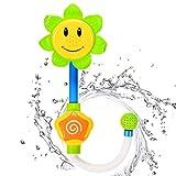 Best US Toy Baby Bath Tubs - Sakiyr Sunflower Baby Bath Toys Spray Bathing Tub Review