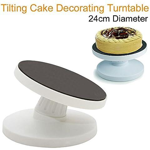 Ardisle Tilting gâteau Décoration Affichage rotatif rotatif Plaque tournante Modélisation de stand