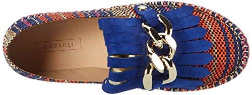 Casadei Damen 2z415 Espadrilles Blau (Montana)