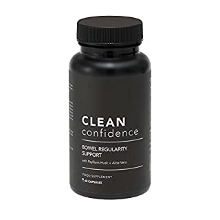 Clean Confidence Bowel Regularity Support - 60 Capsules - One Month Supply by ConfidentU