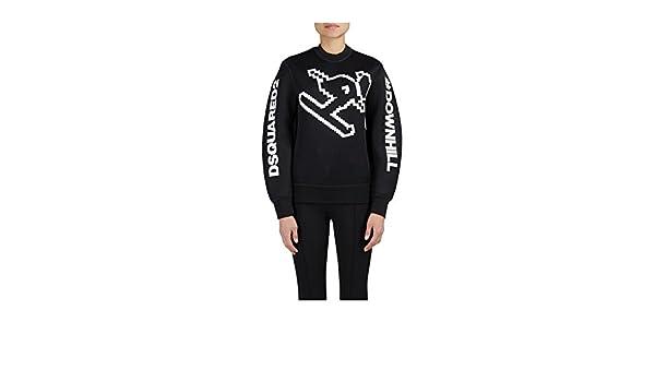 Dsquared2 Felpa Junior dq02vn fd900 d2 Ski Downhill Sweatshirt Neoprene fw  17 18 12A  Amazon.fr  Vêtements et accessoires 4e8246a68c48