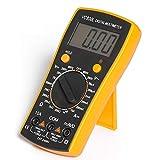 UxradG Digitales Multimeter, MSR-R500 Elektronischer Amp Volt Strom Ohm Voltmeter Amperemeter Multimeter mit Diode und Durchgangsprüfer Testgerät Hintergrundbeleuchtung LCD-Display Messwerkzeug