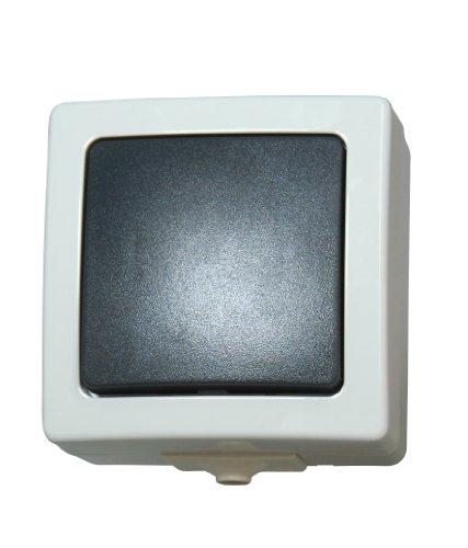 Kopp 565756004 Nautic - Interruptor de cruce (montaje en pared)