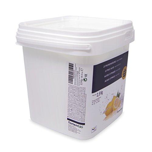 confronta il prezzo Acido Citrico 2.5 kg, Qualità Premium, Polvere Anidro, Pure e Naturale, NortemBio per la produzione ecologico. Sviluppato in Italia. miglior prezzo