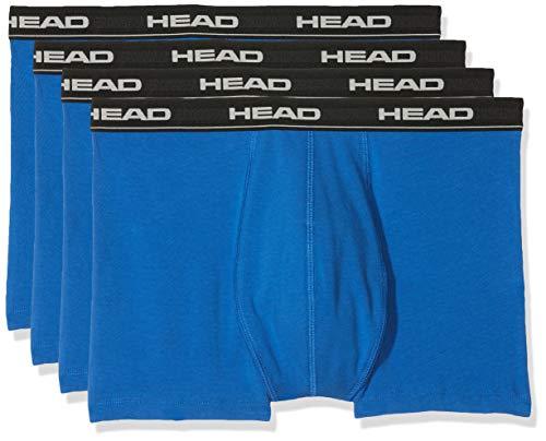 HEAD Men Boxershort 841001001-021 Basic Boxer 4er Pack blue/black,S